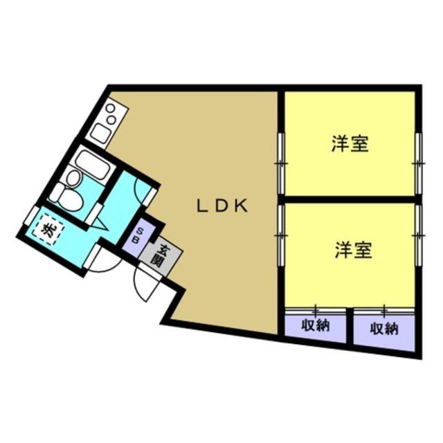 洋6帖 洋6帖 LDK11帖