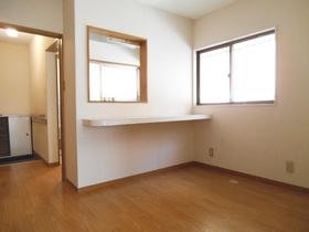 対面キッチンなので洋室をダイニングのように使えます♪