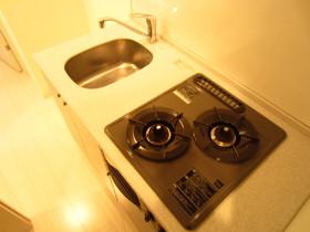 2口ガスコンロのシステムキッチン♪