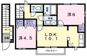 2LDK 53.67平米 4.8万円 愛媛県西条市丹原町 丹原