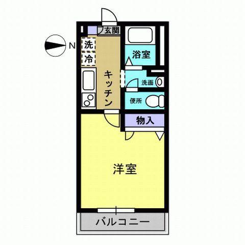 洋室6.9 キッチン3.2