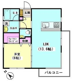 フルール松永 101号室