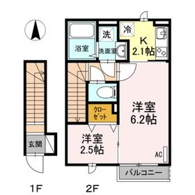 サンクタス OMORI 203号室