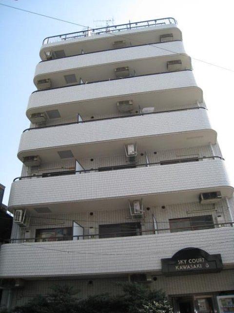 スカイコート川崎8外観