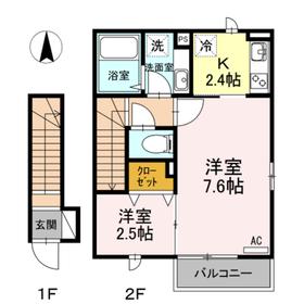 サンクタス OMORI 201号室