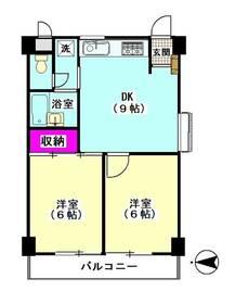 パークサイドキサク8号館 303号室