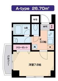 Felicia目黒3階Fの間取り画像