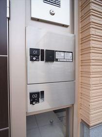 オートロック共用玄関には便利な宅配BOXがございます!