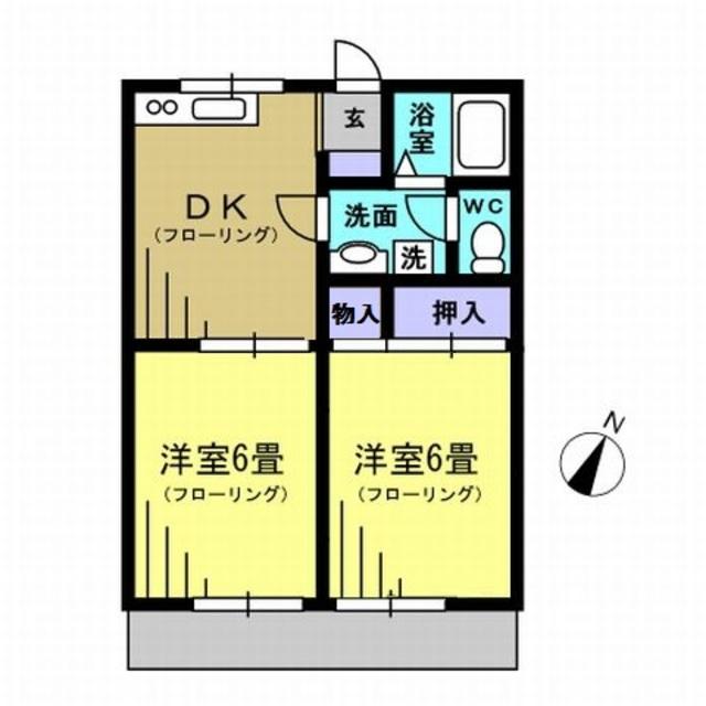 DK6帖・洋6帖・洋6帖