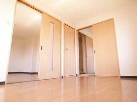 洋室6帖扉を開ければ広々!