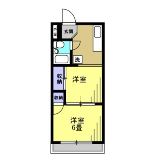 K3.5帖・洋室4.5帖・洋室6帖