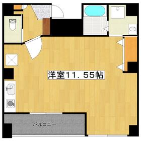 ☆広々11.5帖のワンルームです☆