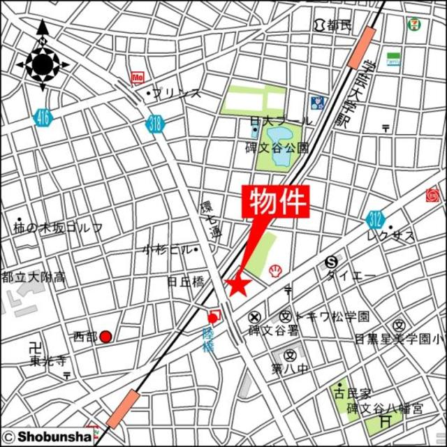 Apartment・H500案内図