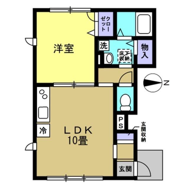 洋6帖 LDK10帖