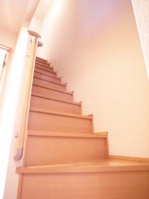 階段があるなんて戸建みたい♪