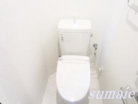 清潔感のあるトイレです★