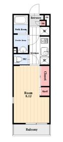 http://image.rentersnet.jp/b5e9d6dc-4820-466e-82c0-083c143c729c_property_picture_962_large.jpg_cap_洋室8.1帖の1K。たっぷりの収納。全戸角部屋で二面採光です。