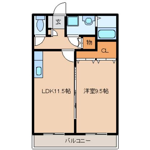 LDK11.5 洋室9.5