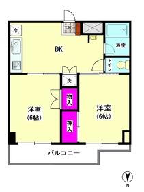 ウエノ東大井ハイツ 211号室