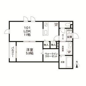 (仮称)南六郷1丁目共同住宅 101号室
