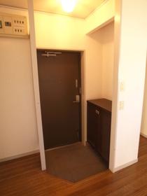 玄関スペースはこんな感じ。