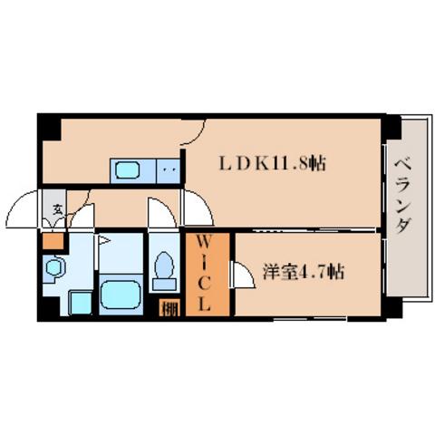 LDK11.8帖 洋室4.7帖