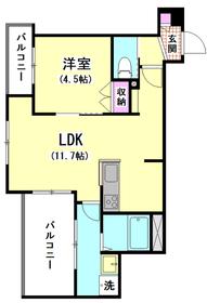 (仮称)本羽田1丁目メゾン 203号室
