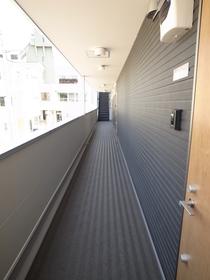 建物内の廊下