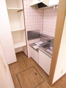 ガスコンロ設置可能の便利なキッチン☆