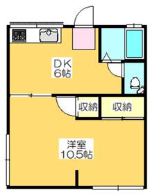 1LDK 35平米 3.5万円 愛媛県新居浜市港町