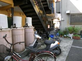 自転車など置けます