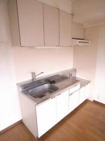 二口ガスコンロ設置可能のキッチンですよ!