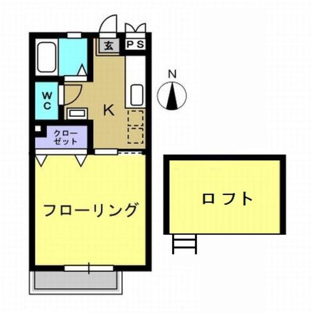 8畳洋室・ロフト付