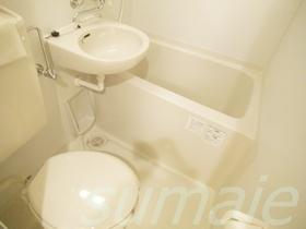洗面台付きバス・トイレです!