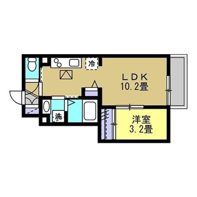 洋3.2帖 LDK10.2帖