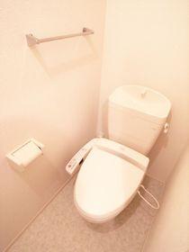 トイレにはウォシュレットも付いています!