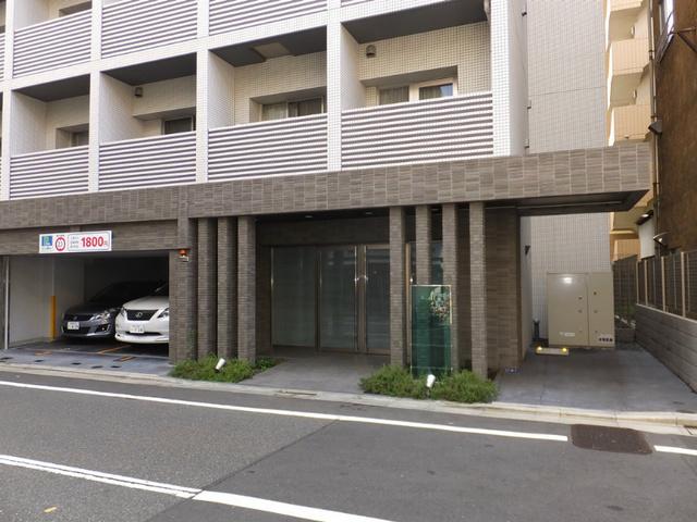 スカイコート蒲田ガーデンエントランス