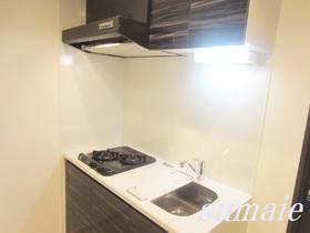 キッチンはシステムキッチンで二口設置済みです☆