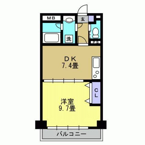 1DK DK7.4 洋9.7