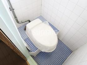 懐かしい感じのトイレです。