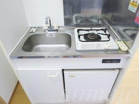 ☆冷蔵庫付のシステムキッチンです☆