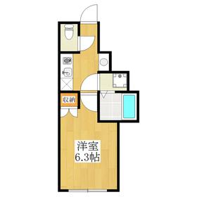 バス・トイレ別、独立洗面台完備のお部屋!