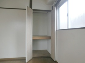 各部屋に収納があるのは便利です(*^_^*)