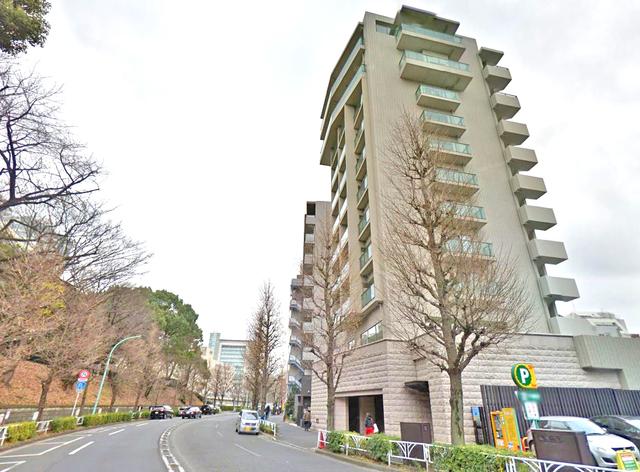 Park Side Kamiyama外観