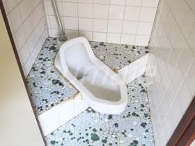 和式トイレです♪