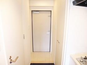 スッキリした清潔感ある玄関です。