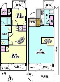 ユニテ・ド・ブラン 106号室