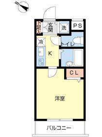 スカイコート文京大塚3階Fの間取り画像