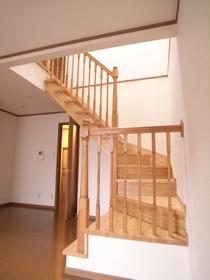 階段もオシャレ~