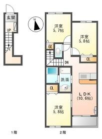 アパート/香川県高松市六条町 Image
